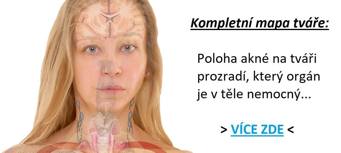 akné na krku psychosomatika