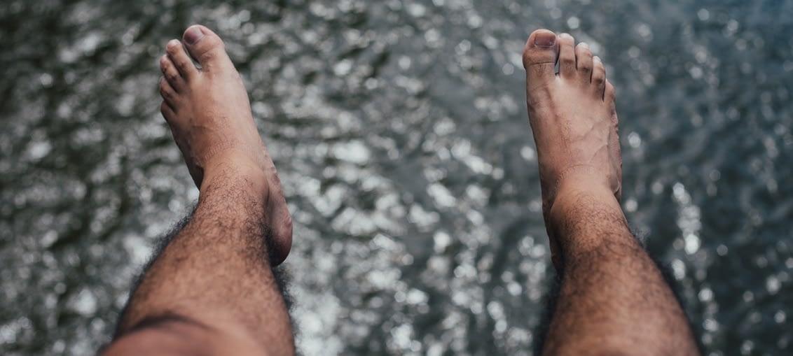 jak si oholit nohy depilace