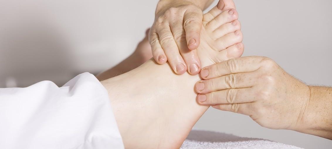 reflexní terapie stisk